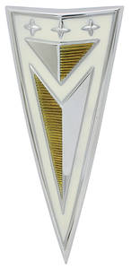 Deck Lid Emblem, 1963 Bonneville/Catalina (Arrowhead)