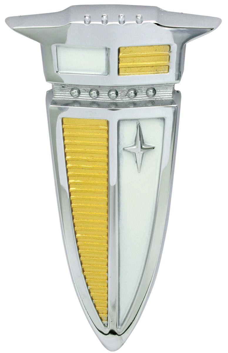 Photo of Fuel Door Emblem, 1960 Bonneville/Catalina (Arrowhead)