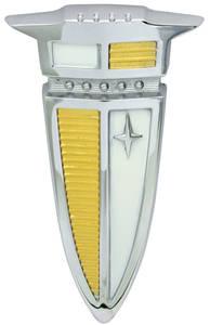 Fuel Door Emblem, 1960 Bonneville/Catalina (Arrowhead)