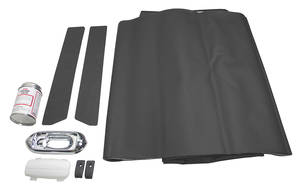 1969-72 Headliner Restoration Kit, Complete El Camino Perforated
