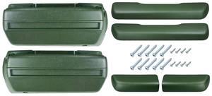 1968-69 Chevelle Armrest Kits, Complete Front & Rear w/o Rear Armrest Bases