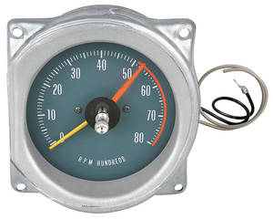 1965-1967 GTO Tachometer (In Dash) Adjustable Redline