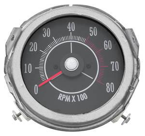 1968-69 Cutlass Tachometer (In Dash)