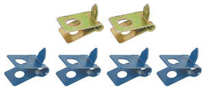 1964-72 Cutlass Brake Line Clips, Front