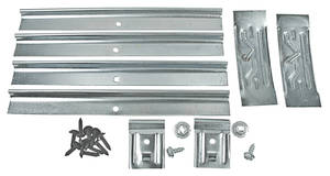 1967 LeMans Rocker Molding Clip Kit 8 Clips (2nd Design) Requires 2