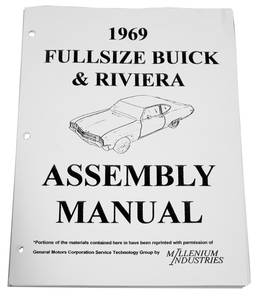 1969-1969 Riviera Buick Assembly Manuals
