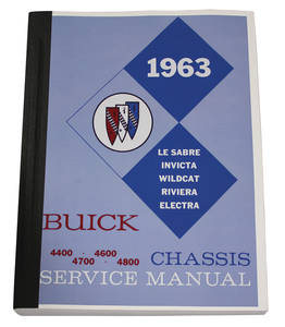 1976 Chassis Service Manuals, Riviera