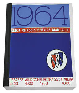 1964-1964 Riviera Chassis Service Manuals, Riviera