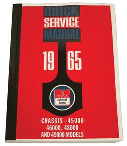 1965-1965 Riviera Chassis Service Manuals, Riviera