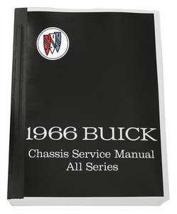 1966-1966 Riviera Chassis Service Manuals, Riviera