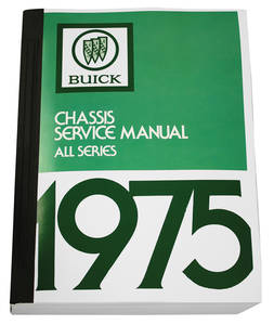 1975-1975 Riviera Chassis Service Manuals, Riviera