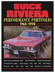 Performance Portfolio, 1963-78 Buick Riviera