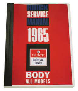 1965-1965 Riviera Fisher Body Manuals