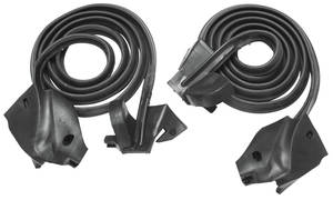 1971-73 Riviera Door Frame Weatherstrip, by Metro Moulded Parts