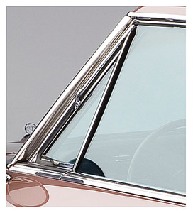 1963-1965 Riviera Vent Window Glass Run Channel, by Steele Rubber Products