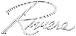 """1963-67 Fender Emblem, """"Riviera"""""""