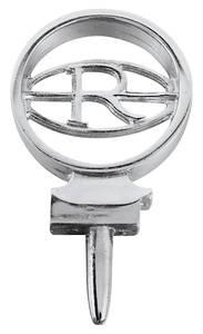 1964-1965 Riviera Hood Spear Emblem, 1964-65