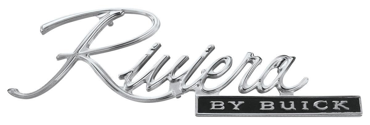 Trunk Panel Emblem, 1971-72