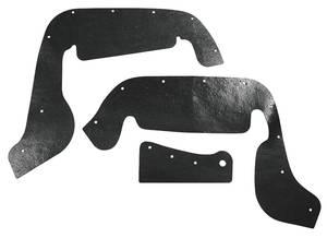 1963-65 Riviera Fenderwell Seals Upper A-Arm, 3-Piece