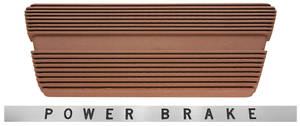 1963-64 Riviera Pedal Pad, Brake w/Trim Plate, Specify Color