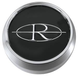 "1964-1965 Riviera Wheel Center Cap 2"", Black"