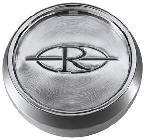 "1971-76 Riviera Wheel Center Cap 2"", Chrome"
