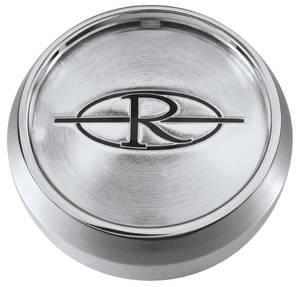 "1971-1976 Riviera Wheel Center Cap 2-1/8"", Chrome"