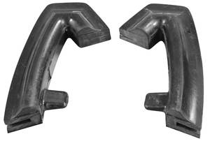 1966-67 Riviera Bumper Rubber Fillers Rear