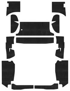1963-65 Riviera Insulation Kits, Acoustishield Body Panel