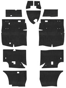1963-1965 Riviera Insulation Kits, Acoustishield Floor, by QuietRide