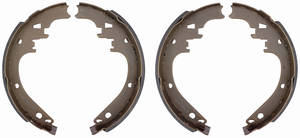 "1971-76 Brake Shoes, Bonneville & Catalina (Drum) Economy Rear, 11"" X 2"""