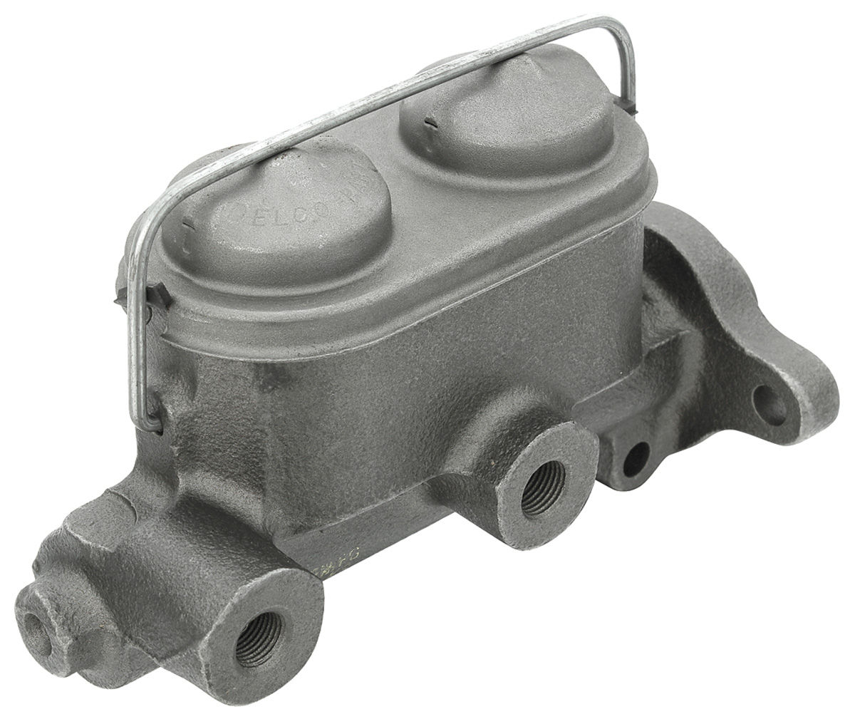"Photo of Master Cylinder Grand Prix w/front drum, w/Moraine, w/1/4"" push rod hole, 1"" bore"