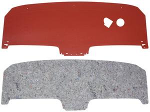 1963-1965 Riviera Seat Shelf, Rear (1963-65) Shelf w/Jute, w/Defroster