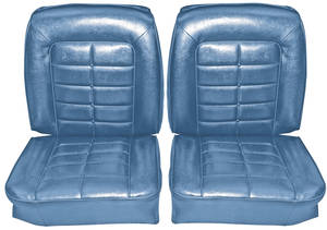1964-1964 Riviera Seat Upholstery, 1964 Buick Riviera Front, Buckets, by Distinctive Industries
