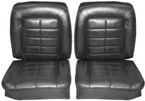 Seat Upholstery, 1964 Buick Riviera Front/Rear, Buckets