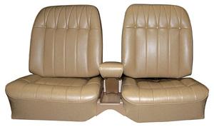 Seat Upholstery, 1965 Buick Riviera Custom Interior Rear, Buckets