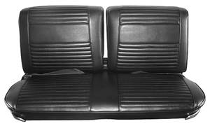 Seat Upholstery, 1966 Buick Riviera Custom Interior Split Bench (w/Center Armrest) w/Rear Seat