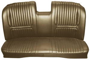 1967-1967 Riviera Seat Upholstery, 1967 Buick Riviera Custom Interior Rear Seat, by Distinctive Industries