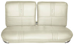 1968-1968 Riviera Seat Upholstery, 1968 Buick Riviera Standard Interior Split Bench (w/o Center Armrest) w/Rear Seat, by Distinctive Industries