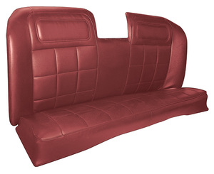 Seat Upholstery, 1969 Buick Riviera Custom Interior Rear Seat, by Distinctive Industries