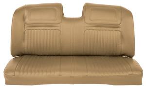 Seat Upholstery, 1970 Buick Riviera Custom Interior Rear Seat