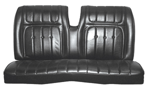 Seat Upholstery, 1973 Buick Riviera Custom Interior Rear Seat, by Distinctive Industries