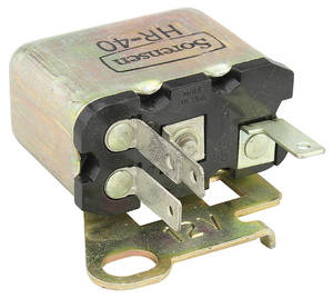 1969-73 Riviera Horn Relay, by Lectric Limited