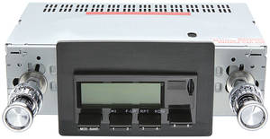 1968-1976 Riviera Stereo, Vintage Car Audio 100 Series Black