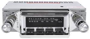 1966-1967 Riviera Stereo, Vintage Car Audio 300 Series Chrome