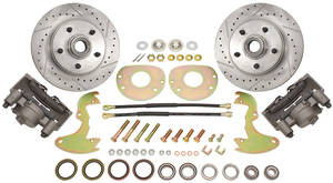 Disc Brake Conversion Kit, 1963-65 Riviera Front Deluxe, by Performance Online