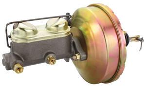 Brake Booster & Master Cylinder Conversion, 1963-69 Riviera Power Drum