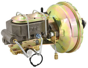 Brake Booster & Master Cylinder Conversion, 1963-69 Riviera Power 2-Wheel Disc, by Performance Online
