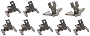 1963-1965 Riviera Window Molding Attachment Clips Front (9-Pcs.)