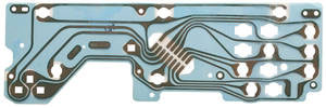 1975-76 Riviera Circuit Board, Printed w/Warning Lights
